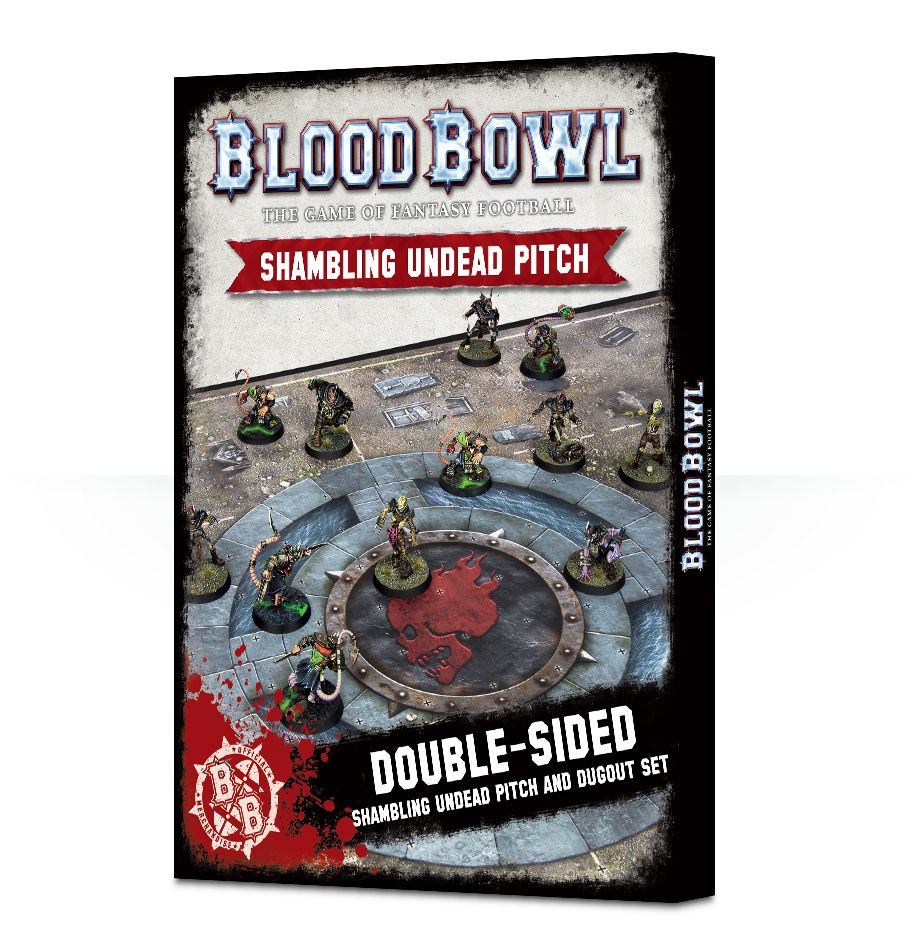 Blood Bowl: Undead Pitch & Dugouts Game Box