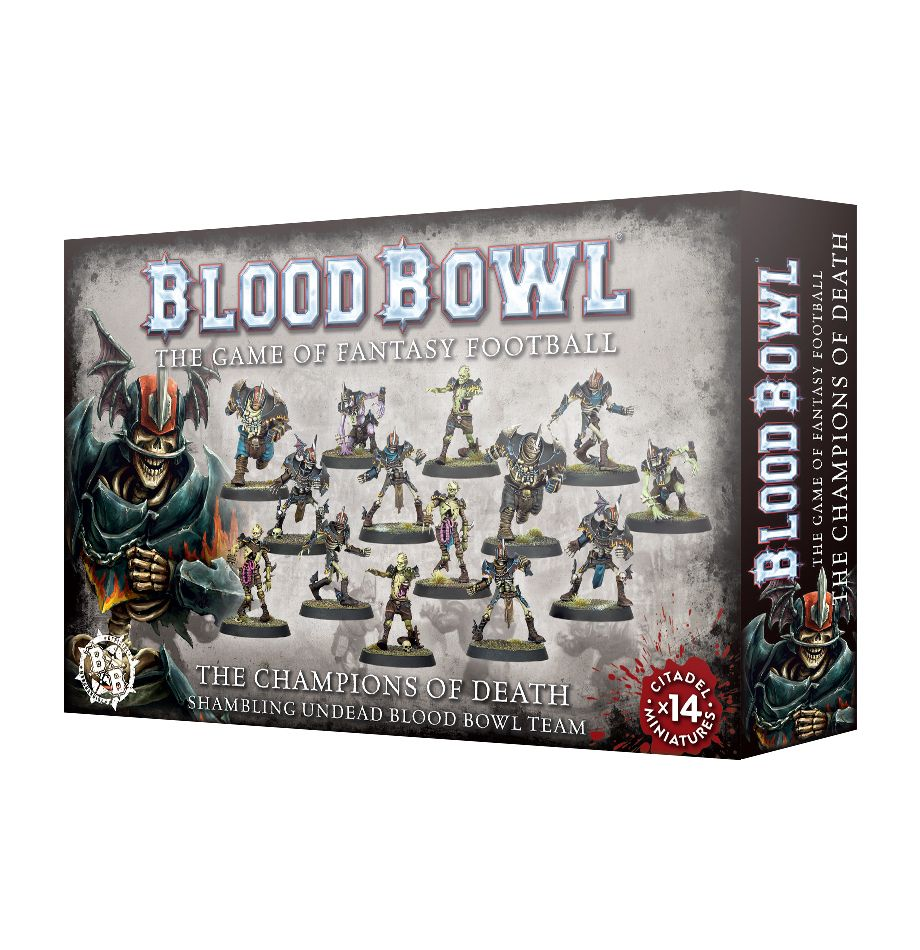 Blood Bowl: Champions Of Death Team Game Box