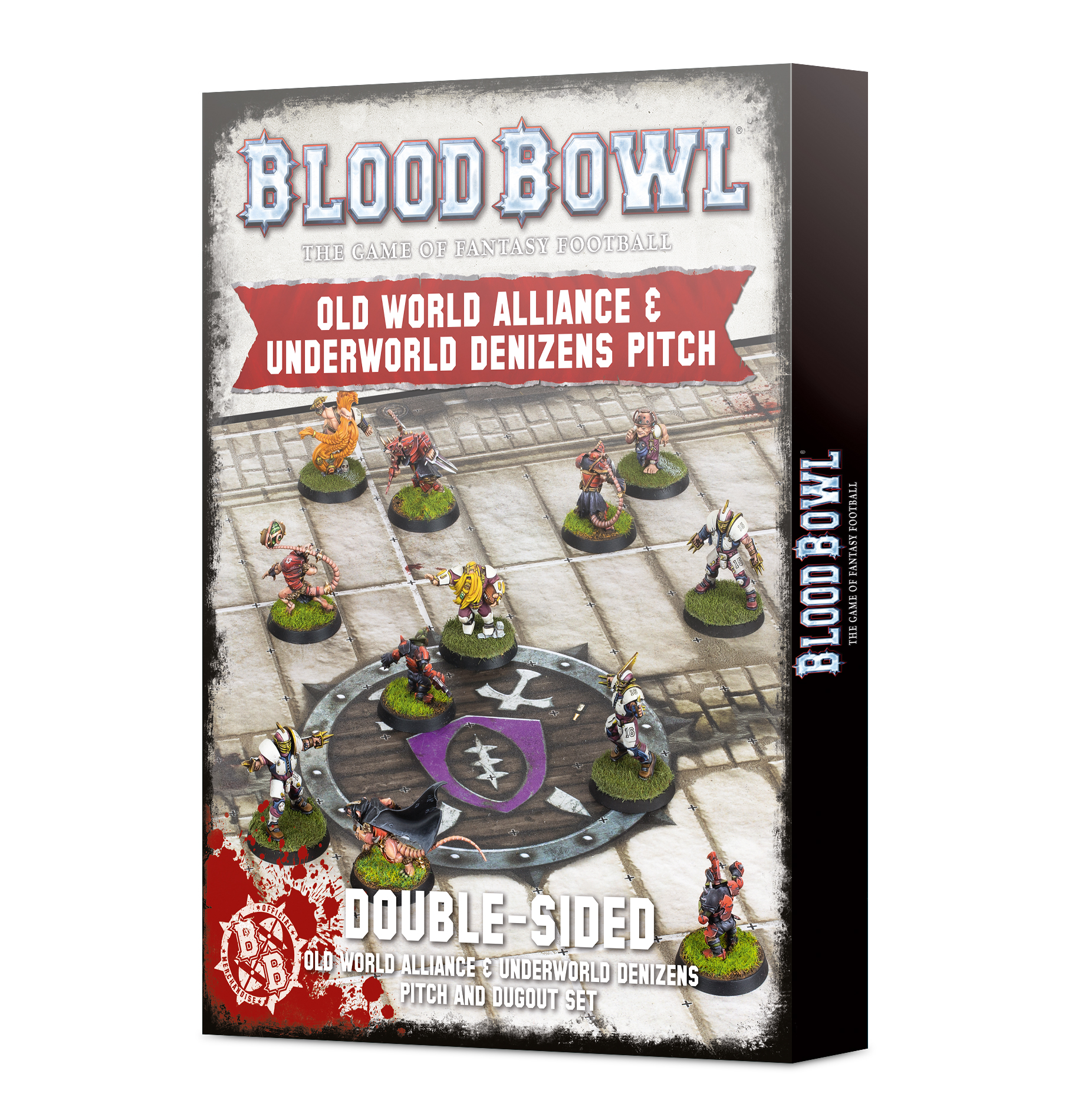 Blood Bowl: Old World And Underworld Pitch