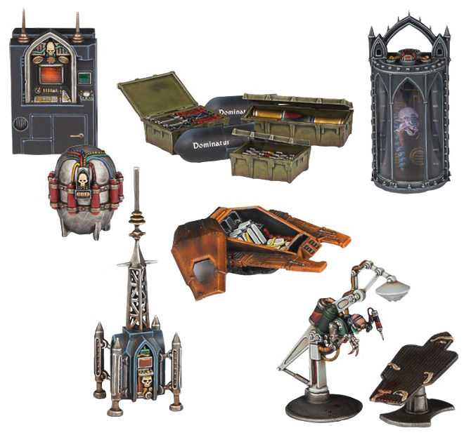 Warhammer 40k: Sector Imperialis Objectives Box Front