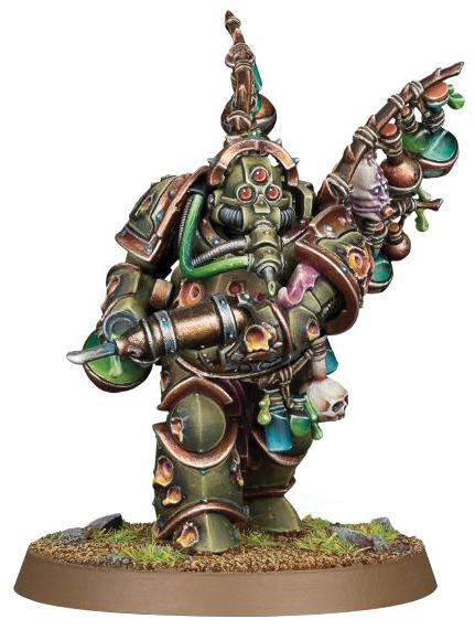 Warhammer 40k: Chaos Space Marine Death Guard Biologus Putrifier Box Front
