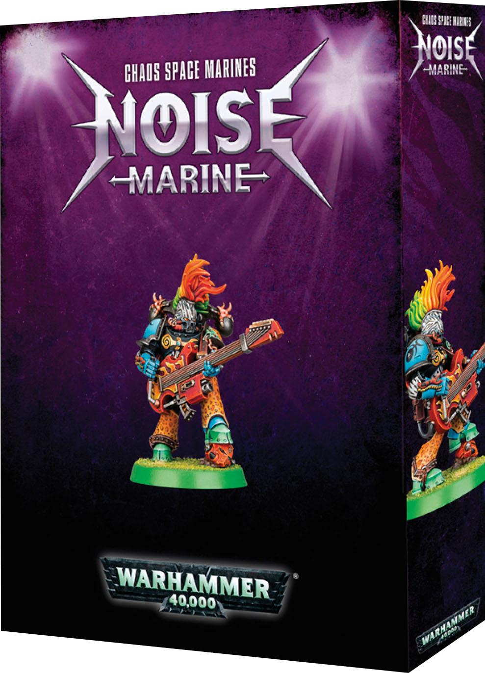 Warhammer 40k: Chaos Space Marine Noise Marine Game Box