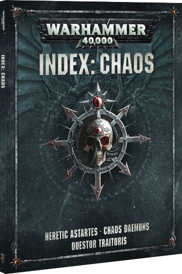 Warhammer 40k: Index - Chaos Box Front