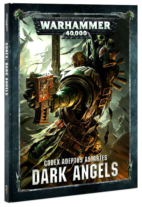 Warhammer 40k: Space Marine Dark Angels Codex (hardcover) Box Front