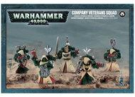 Warhammer 40k: Space Marine Dark Angels Company Veterans Squad Box Front