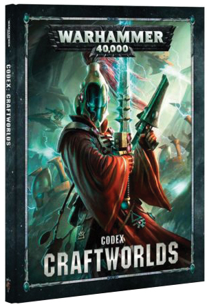 Warhammer 40k: Eldar Craftworlds Codex (hardcover) Box Front