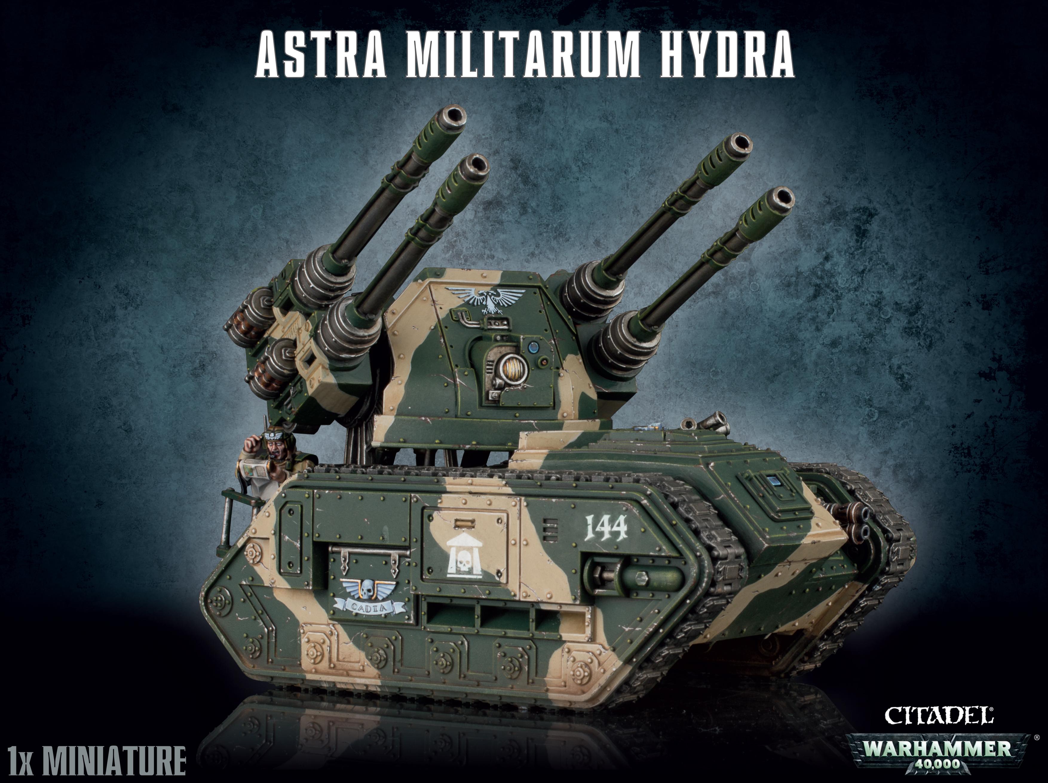 Warhammer 40k: Astra Militarum Hydra/wyvern