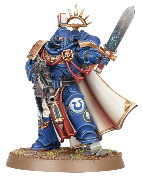 Warhammer 40k: Space Marine Primaris Captain Box Front