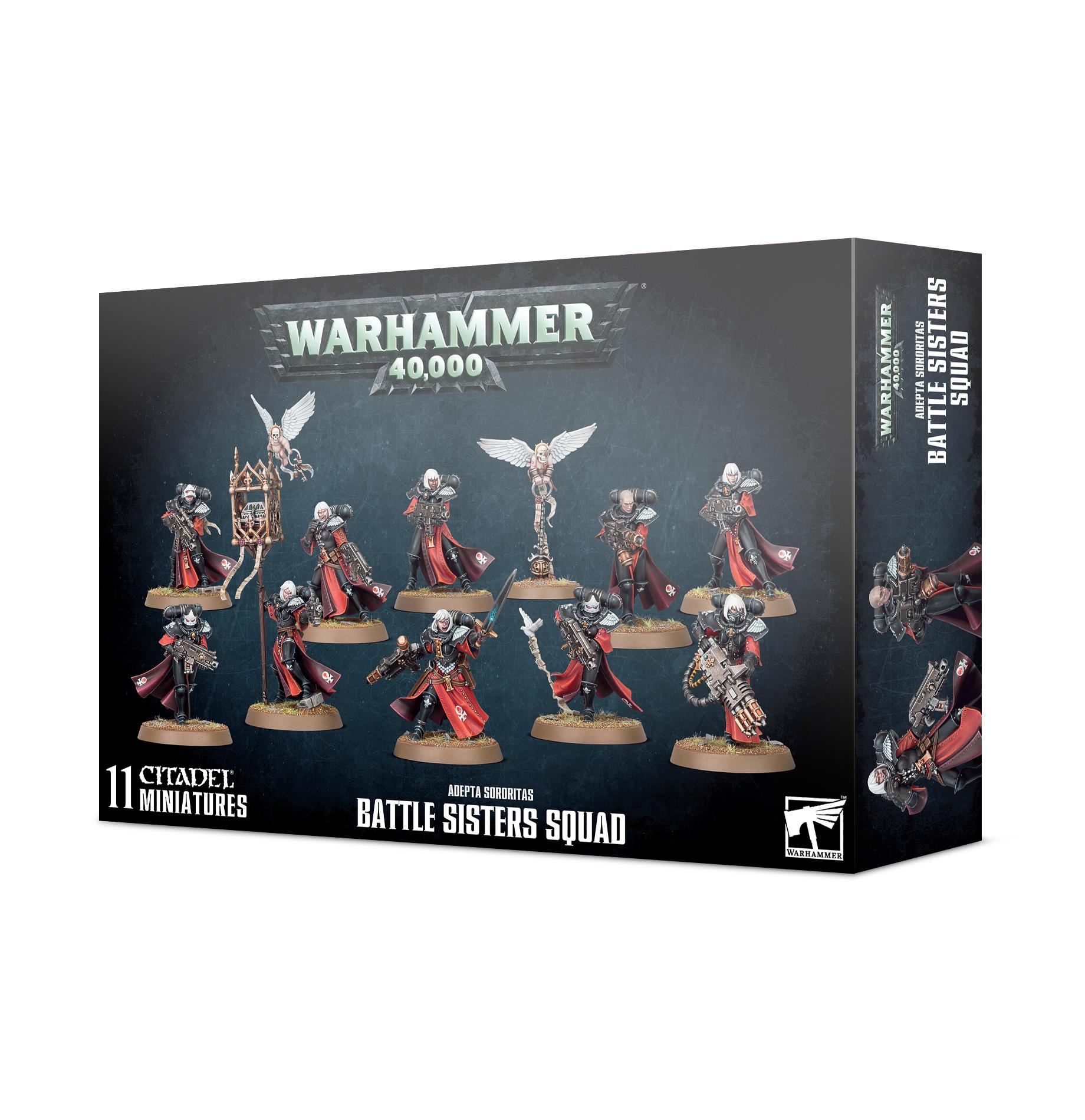 Warhammer 40k: Adepta Sororitas Battle Sisters Squad