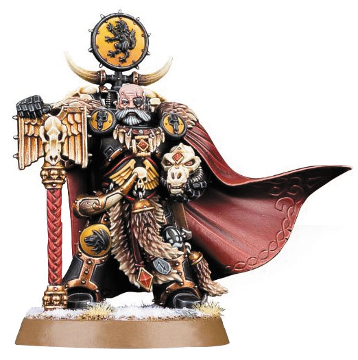Warhammer 40k: Space Marines Space Wolves Ulrik The Slayer Box Front