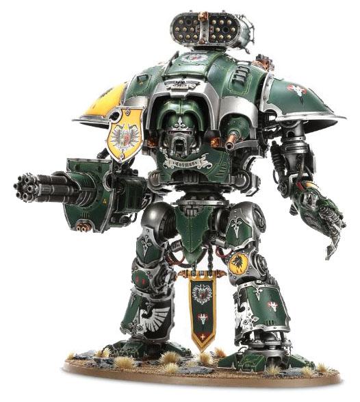 Warhammer 40k: Imperial Knight Warden/crusader/errant/paladin/galant Box Front