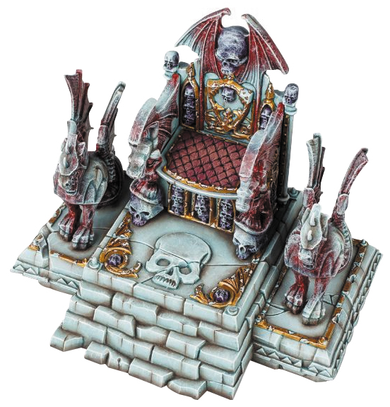 Warhammer Age Of Sigmar: Magewrath Throne Box Front