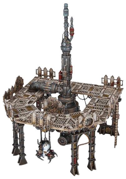 Warhammer 40k: Sector Mechanicus - Galvanic Magnavent Box Front