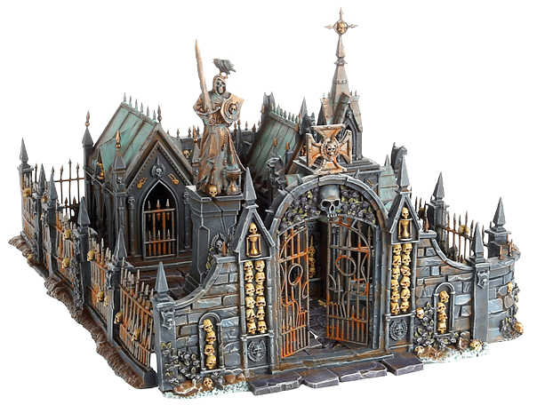 Warhammer Age Of Sigmar: Skirmish Sigmarite Mausoleum Box Front