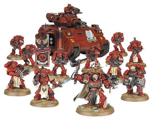 Warhammer 40k: Start Collecting! Blood Angels Box Front