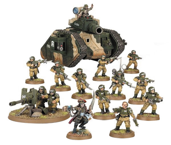 Warhammer 40k: Start Collecting! Astra Militarum Box Front