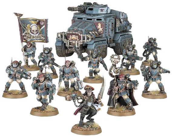 Warhammer 40k: Start Collecting! Militarum Tempestus Box Front