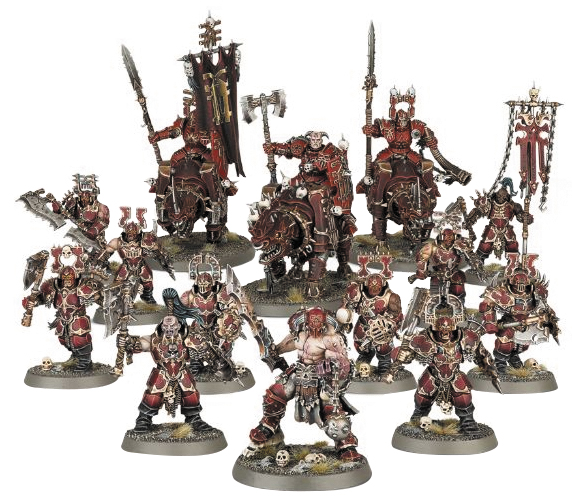 Warhammer Age Of Sigmar: Start Collecting! Khorne Bloodbound Box Front