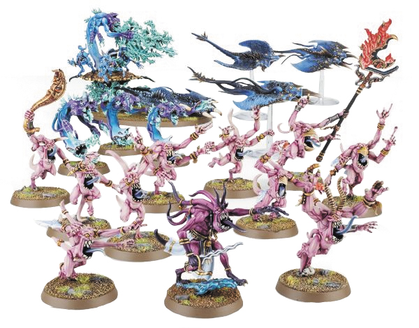 Warhammer Age Of Sigmar: Start Collecting! Daemons Of Tzeentch Box Front