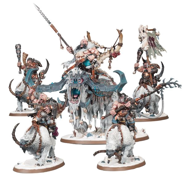 Warhammer Age Of Sigmar: Start Collecting! Beastclaw Raiders Box Front