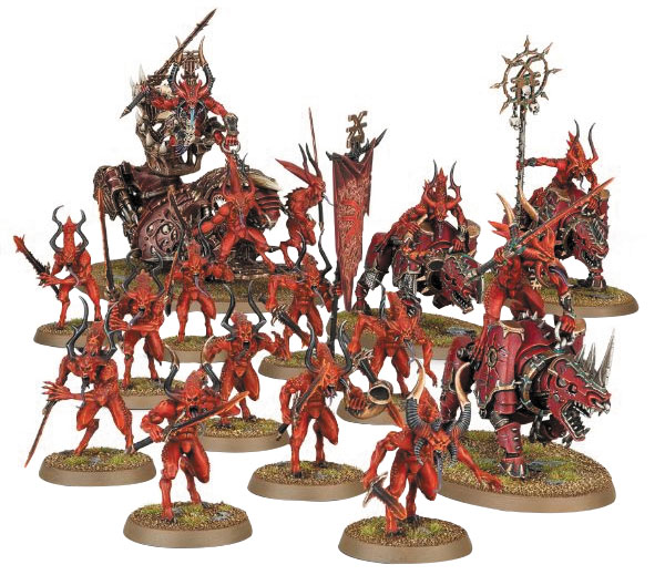 Warhammer Age Of Sigmar: Start Collecting! Daemons Of Khorne Box Front