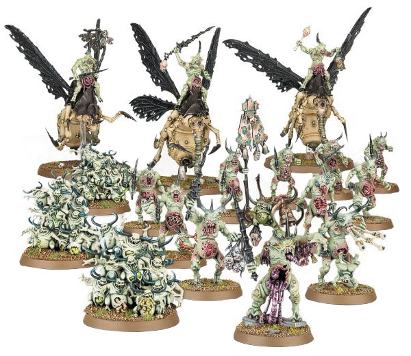Warhammer Age Of Sigmar: Start Collecting! Daemons Of Nurgle Box Front