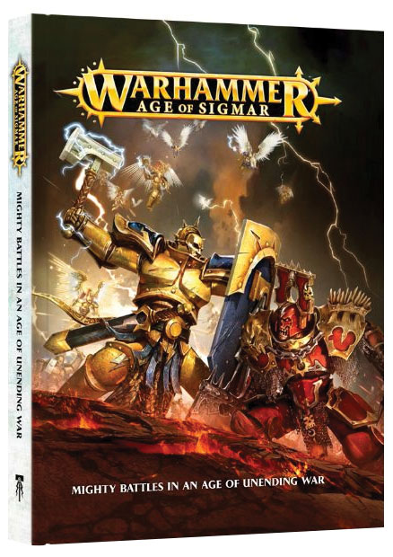 Warhammer Age Of Sigmar: Book (hardcover) Box Front