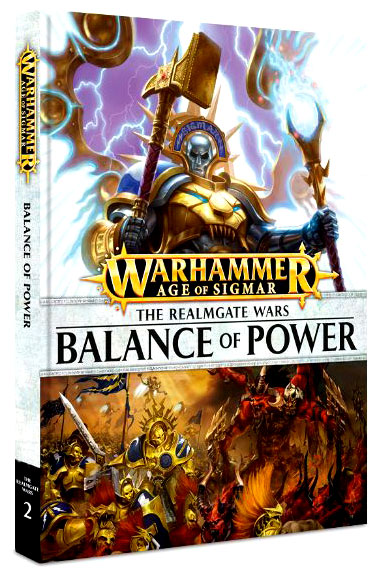 Warhammer Age Of Sigmar: Realmgate Wars 2 - Balance Of Power Hardcover Box Front