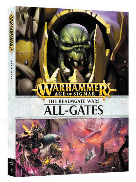 Warhammer Age Of Sigmar: Realmgate Wars 4 - All-gates Hardcover Box Front