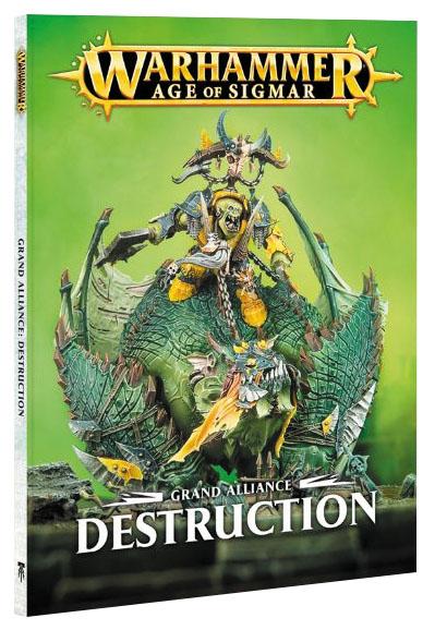 Warhammer Age Of Sigmar: Grand Alliance - Destruction Box Front
