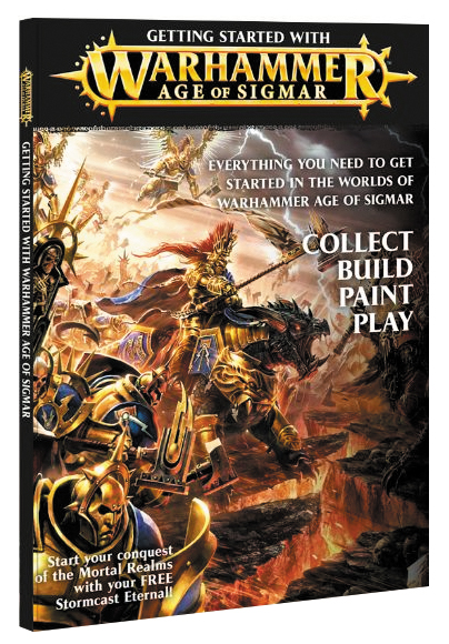 Warhammer Age Of Sigmar: Getting Started With Warhammer Age Of Sigmar Box Front