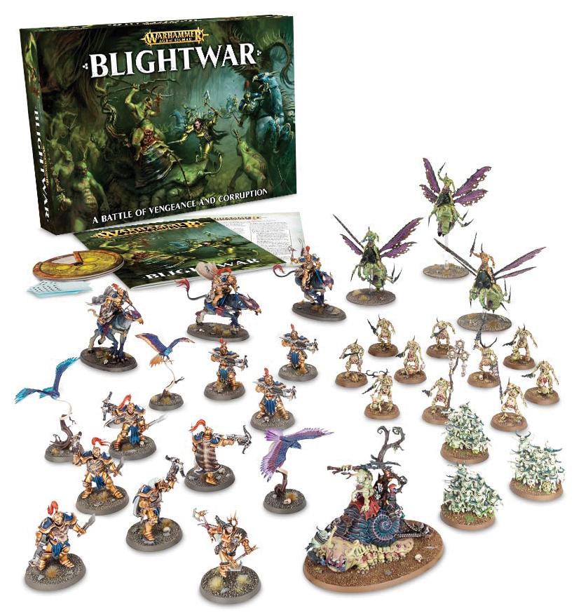 Warhammer Age Of Sigmar: Blightwar Box Front