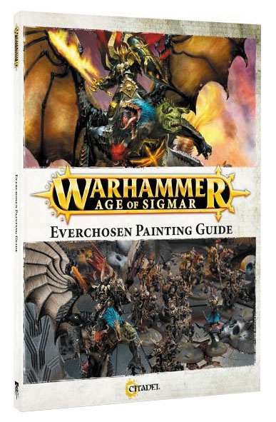 Warhammer Age Of Sigmar: Chaos Everchosen Painting Guide Box Front