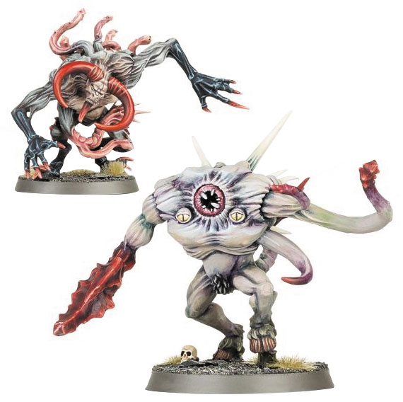 Warhammer Age Of Sigmar: Chaos Slaves To Darkness Chaos Spawn Box Front