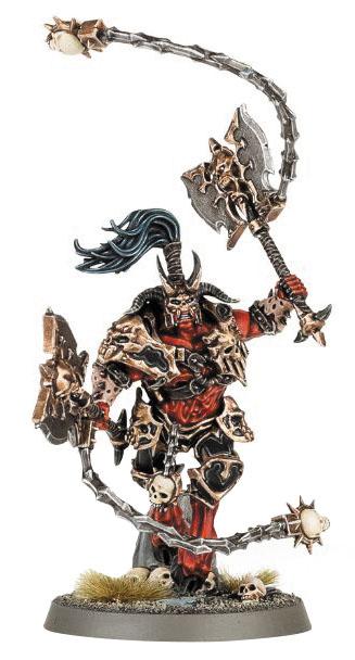 Warhammer Age Of Sigmar: Chaos Khorne Bloodbound Skarr Bloodwrath Box Front