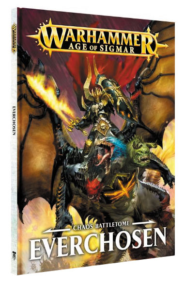 Warhammer Age Of Sigmar: Chaos Battletome - Everchosen Hardcover Box Front