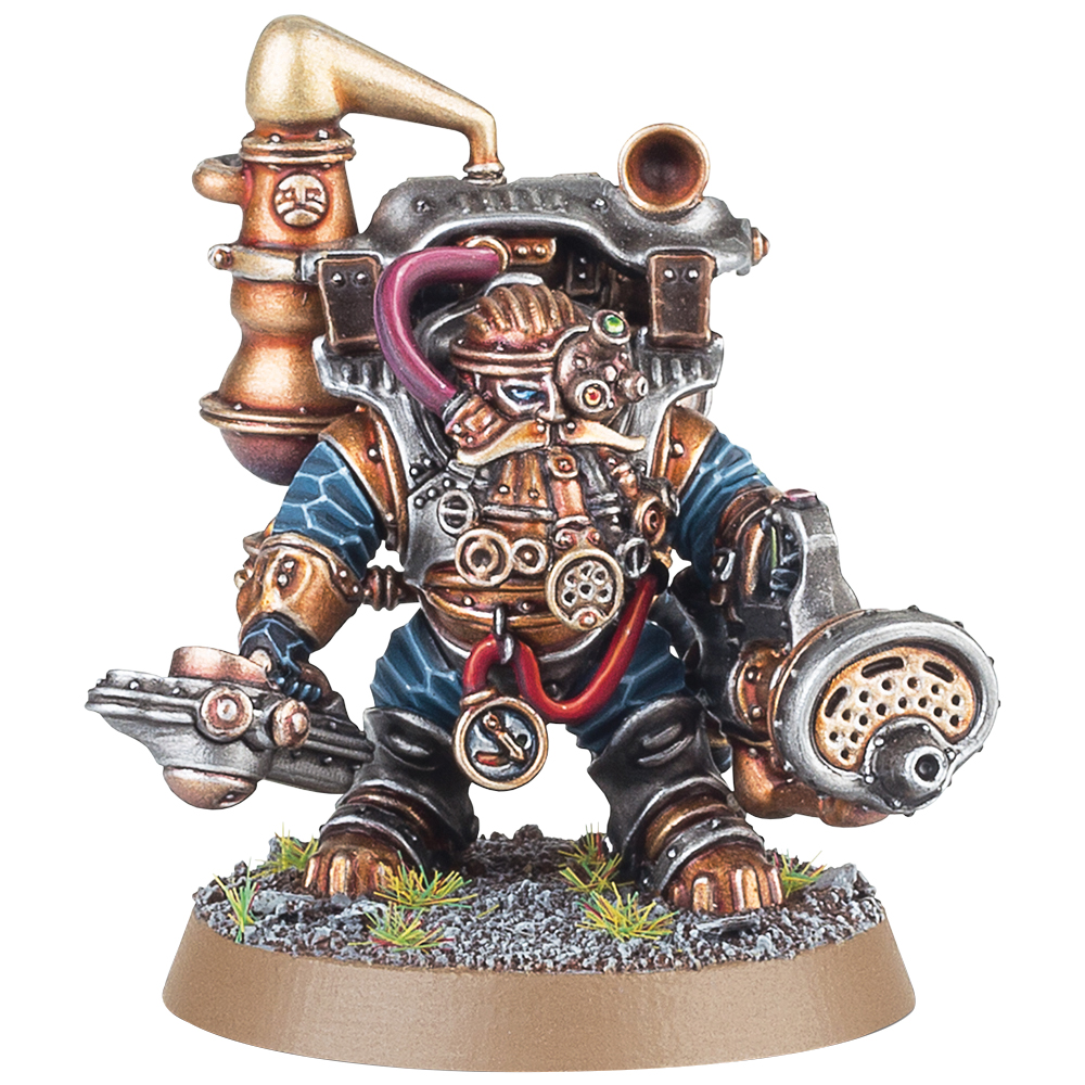 Warhammer Age Of Sigmar: Order Kharadron Overlords Aether-khemist Box Front