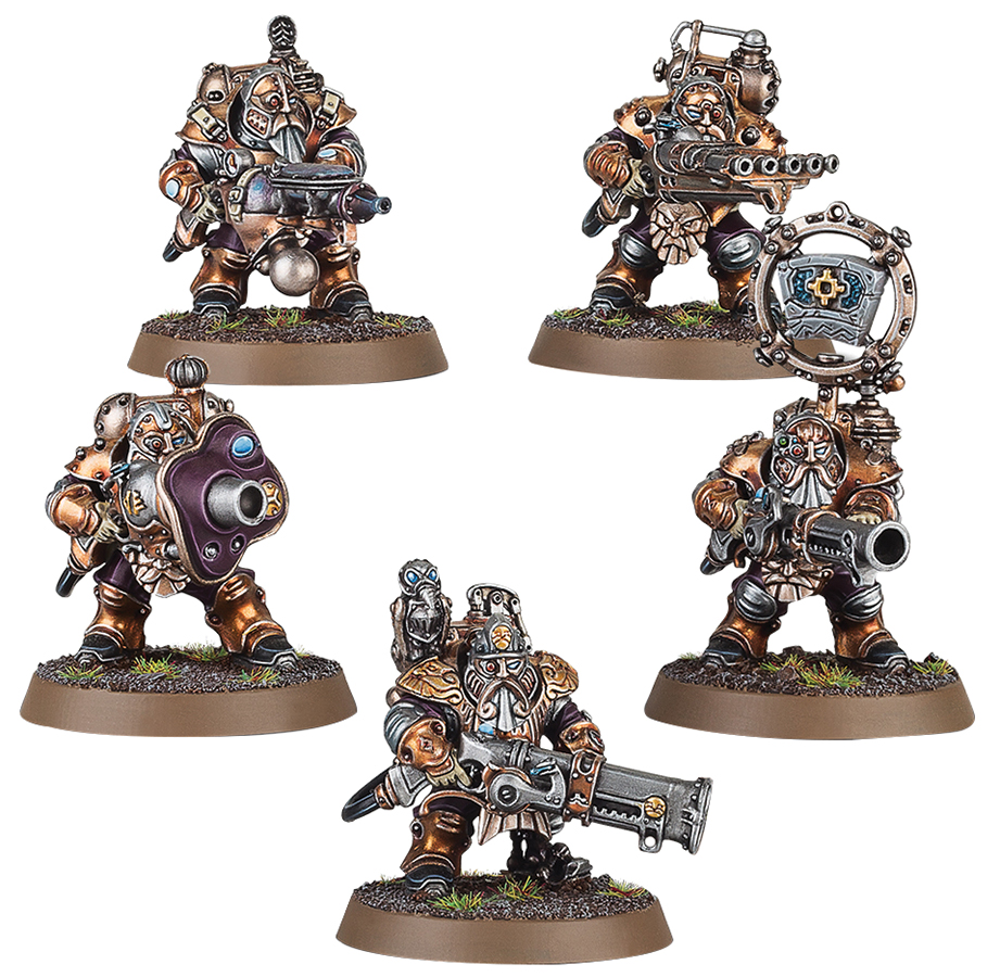 Warhammer Age Of Sigmar: Order Kharadron Overlords Grundstok Thunderers Box Front