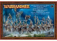 Warhammer Fantasy Battle: High Elf White Lions Of Chrace Box Front
