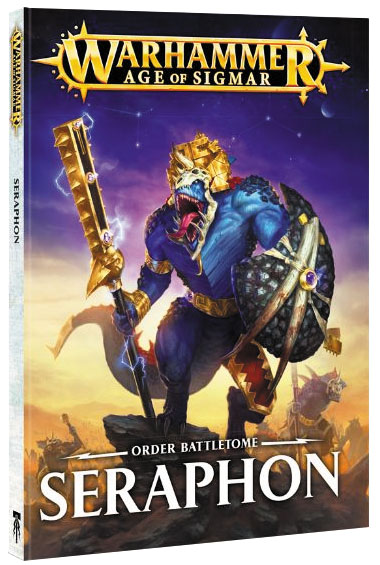 Warhammer Age Of Sigmar: Order Seraphon Battletome (hardcover) Box Front