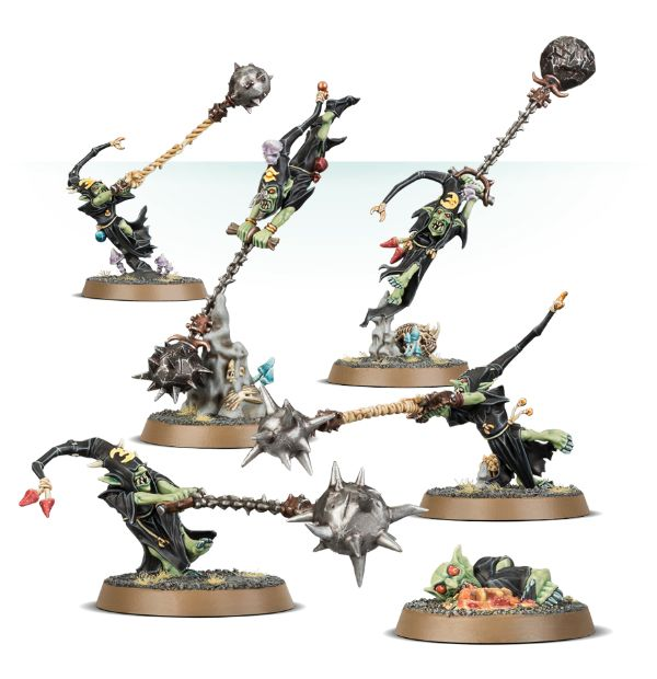 Warhammer Age Of Sigmar: Gloomspite Gitz Fanatics Game Box