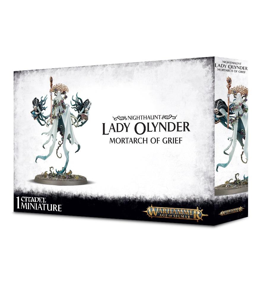 Warhammer Age Of Sigmar: Death Nighthaunt Lady Olynder