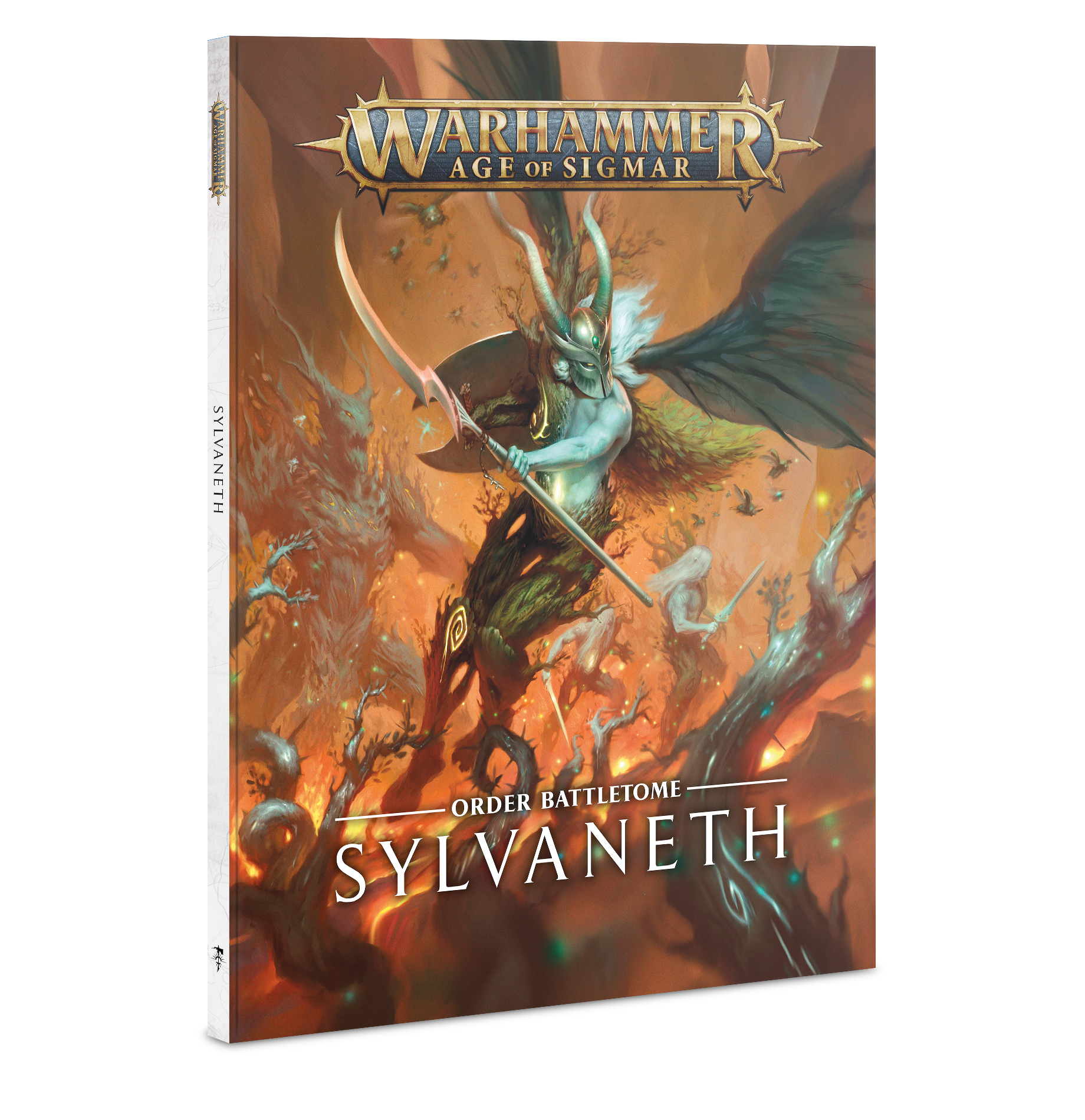 Warhammer Age Of Sigmar: Sylvaneth Battletome Game Box