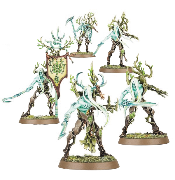 Warhammer Age Of Sigmar: Order Sylvaneth Tree-revenants/spite-revenants Box Front
