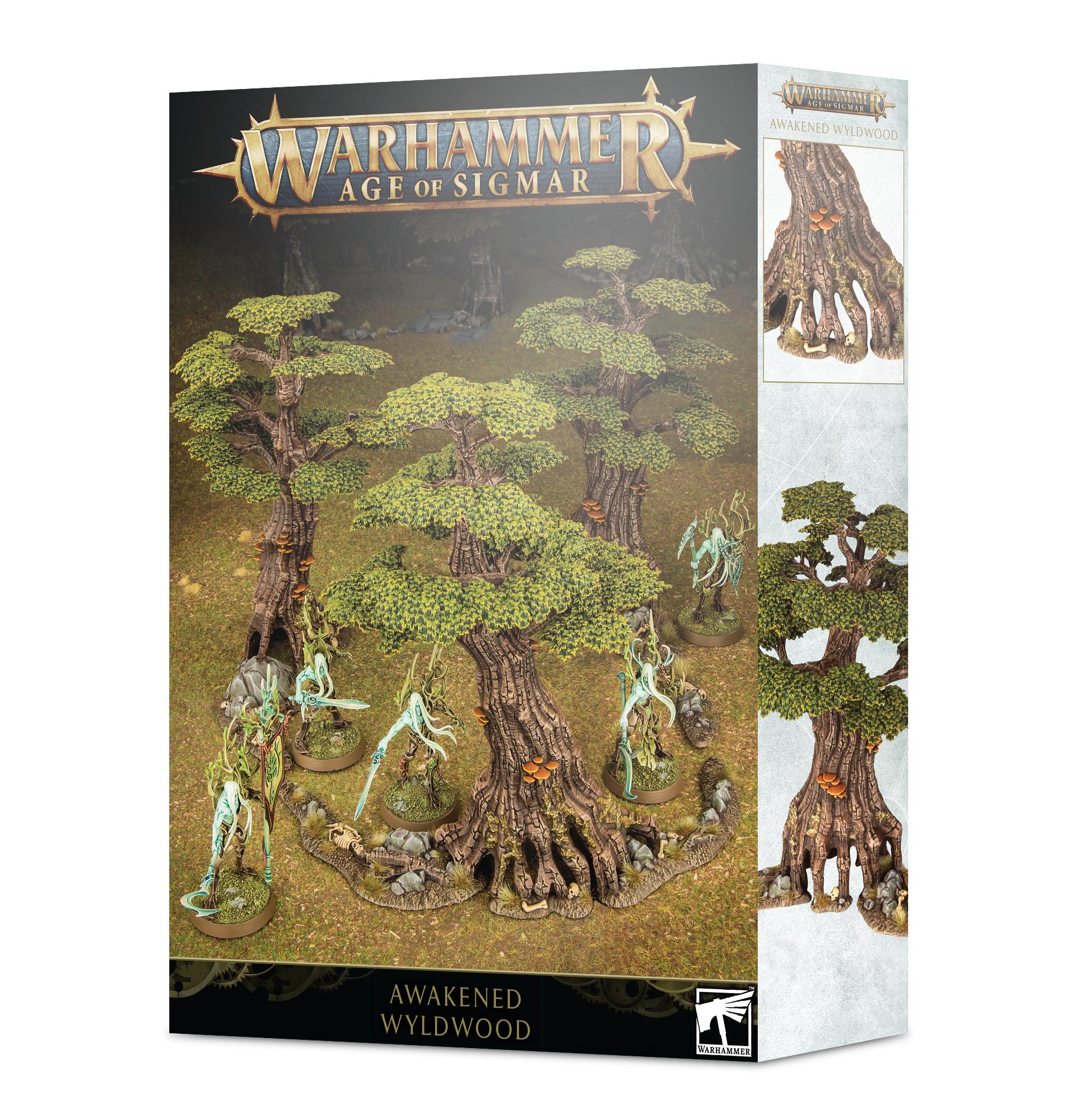 Warhammer Age Of Sigmar: Awakened Wildwood Game Box
