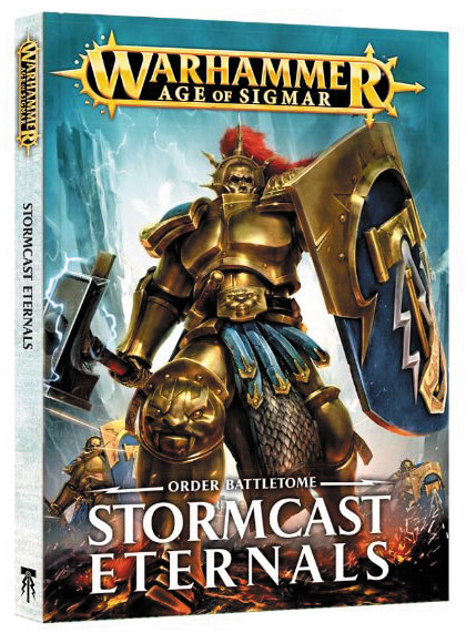 Warhammer Age Of Sigmar: Order Battletome - Stormcast Eternals Game Box