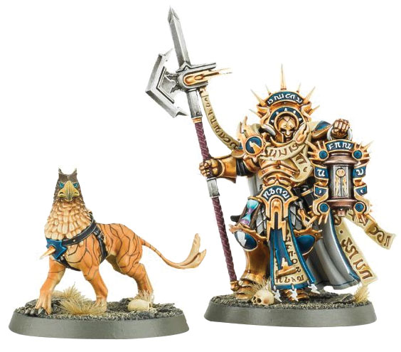 Warhammer Age Of Sigmar: Order Stormcast Eternals Lord-castellant Box Front