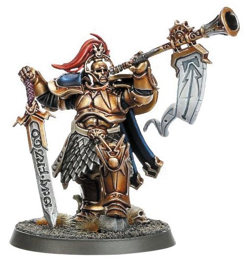 Warhammer Age Of Sigmar: Order Stormcast Eternals Knight-heraldor Box Front