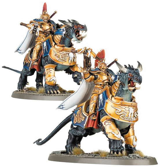 Warhammer Age Of Sigmar: Stormcast Eternals Dracothian Guard Box Front