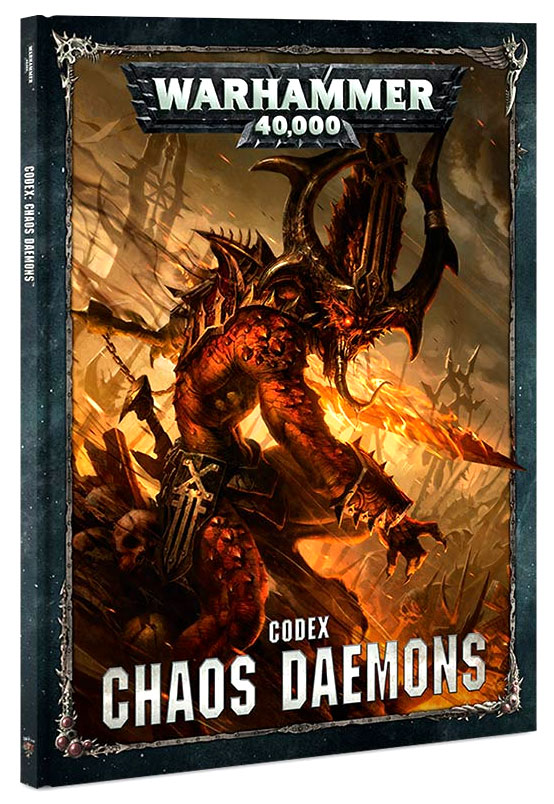 Warhammer 40k: Chaos Demons Codex Box Front